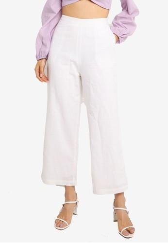 Charlie Holiday white Joelle Pants B237AAA5FB1B63GS_1