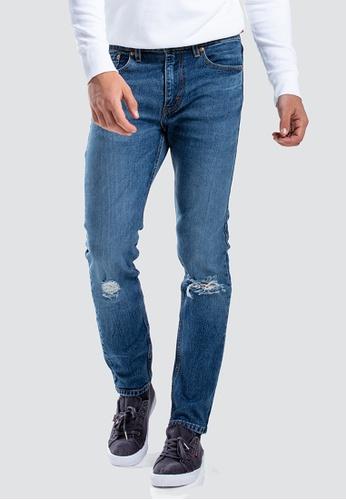 ed78c7f7e2 Levi s blue Levi s 512 Slim Taper Fit Jeans Men 28833-0318  1AE9DAA655AC47GS 1