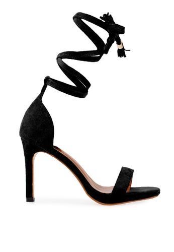 Mandy's black Mandy's Les bretelles Black Heels MA947SH72CRJID_1