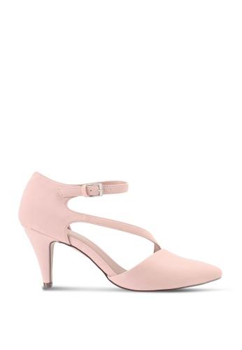 Call It Spring 粉紅色 Emelya Slingback Stiletto Heels EDFB6SH297128DGS_1