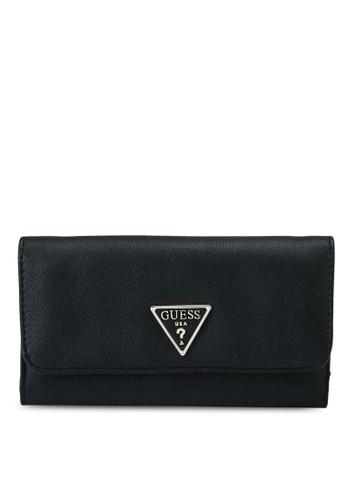 Guess black Noelle Multi Clutch Wallet A5036ACE728E77GS_1