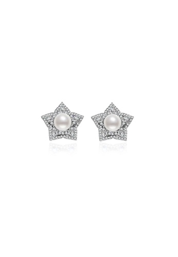 Pearly Lustre silver Pearly Lustre Elegant Garden by the Bay Freshwater Pearl Earrings WE00086 AE15AACE78EBC6GS_1