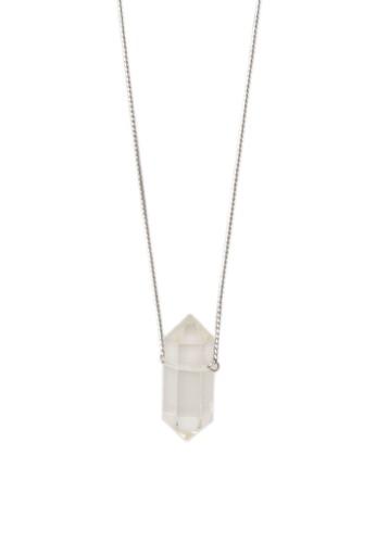 esprit台灣outletGotosleep 造型水晶吊墜項鍊, 飾品配件, 項鍊