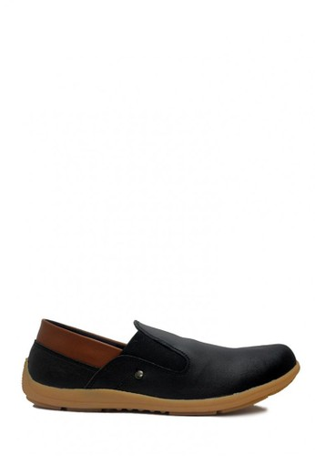 D-Island black D-Island Shoes Slip On Kulit Elegant Comfort Genuine Leather Black DI594SH03OBGID_1