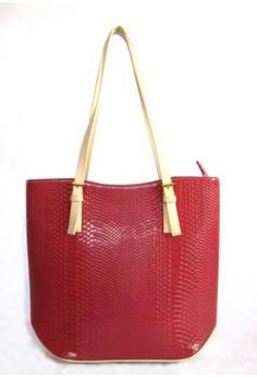 Patent Shopper Tote Bag