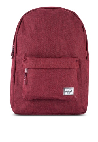 Herschel red Classic Backpack HE114AC12SITMY_1