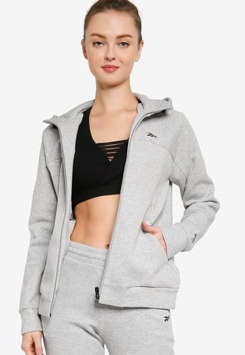 Reebok grey DMX TR Sweatshirt BCCD9AA0C62105GS_1