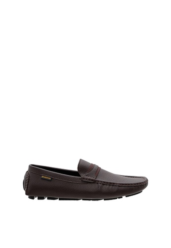 SEMBONIA brown SEMBONIA Men Microfiber Loafer (Brown) 9DBA5SH2841885GS_1