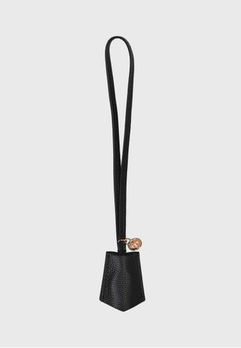 Tocco Toscano black Lunar Lumine Leather Bag Charm (Black) CC588AC072B4E4GS_1