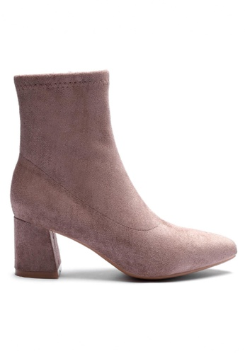Twenty Eight Shoes Synthetic Suede Ankle Boots 1266-1 CA0CASH549974BGS_1