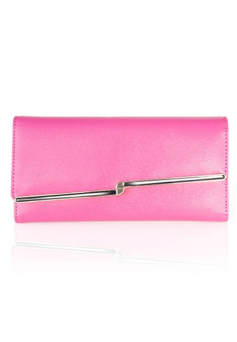 VERNYX - Woman's Lighning Plate Wallet DO475 HotPink - Dompet Wanita