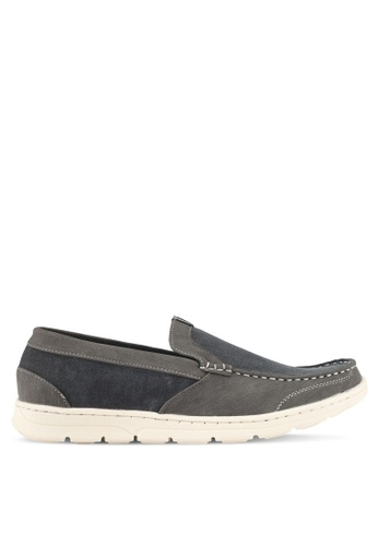 Rocklander grey Rocklander Casual Loafer Shoes 2444DSH368FDF0GS_1