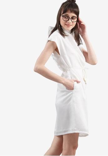 Berrybenka white Daachie Shift Dress 9B767AAC1D5BDEGS_1
