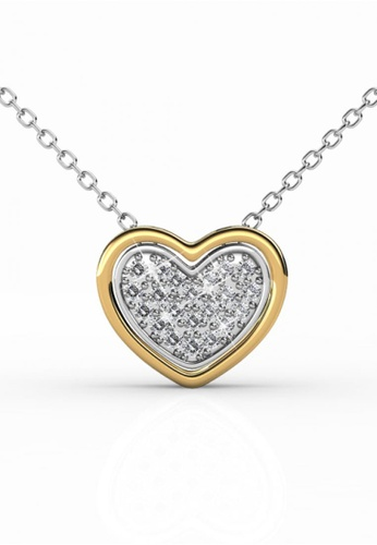 Her Jewellery silver Her Jewellery 2 Become 1 Pendant with Necklace Chain with 18K Gold Plated A9006ACCC2738DGS_1