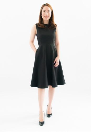 Love Knot black Laurie A-Line Dress (Black) 0747FAAAD79F3DGS_1