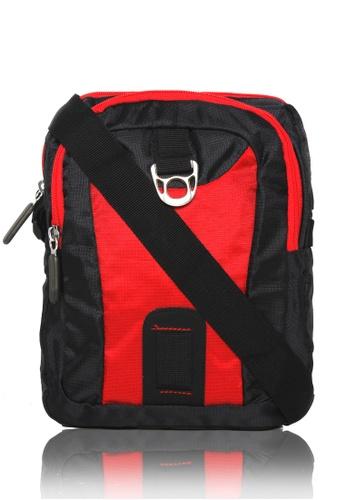 Attraxion Men's and Accessories black Attraxion Jasper Crossbody Bag for Men 2F91AAC7ACBBAEGS_1