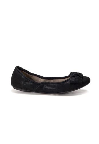 Shu Talk black AMAZTEP NEW Comfy Sole Suede Leather BOW Ballerina Ballet Flats ECC69SH1215EF3GS_1