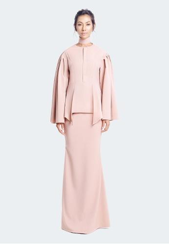 De Leuca De Leuca Kurung Tun Fatimah - 裸色 F2F86AA0F6D779GS_1