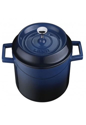 Lava blue Lava Cast Iron Casserole - 32 cm 5859CHL2F243D7GS_1