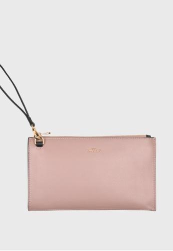 Tocco Toscano pink Lunar Wristlet Clutch (Dusty Pink) 67663AC76B5042GS_1