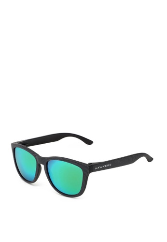 Hawkers black HAWKERS Carbono Emerald ONE Sunnies B1B72GL04F4D00GS_1