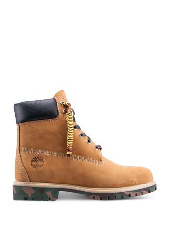 Timberland brown 6 Inch Premium Waterproof Boots 5BAE3SH5DF30A6GS_1