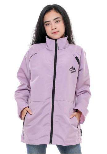X Urband purple Jaket Casual Purple A066 00BB2AA9E5CAB9GS_1