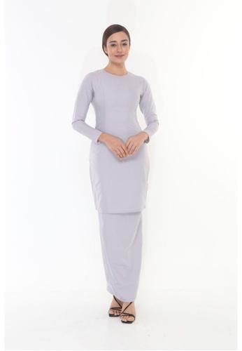 Amar Amran silver Baju Kurung Moden Qasandra 11AE4AAAD44B7AGS_1
