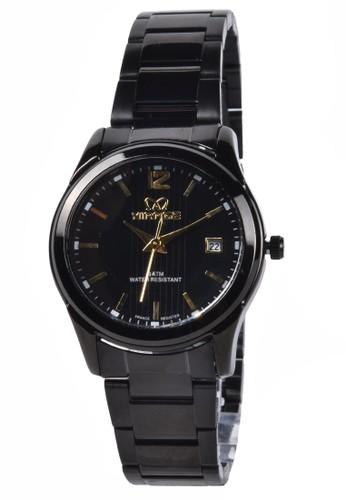 Digitec black Mirage - Jam Tangan Wanita - Black - Stainless Steel Bracelet - 7570-