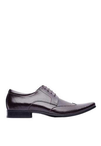 Life8 brown Formal Gentleman Pointy-toe Leather Shoes -09705-Brown LI283SH0FUTISG_1