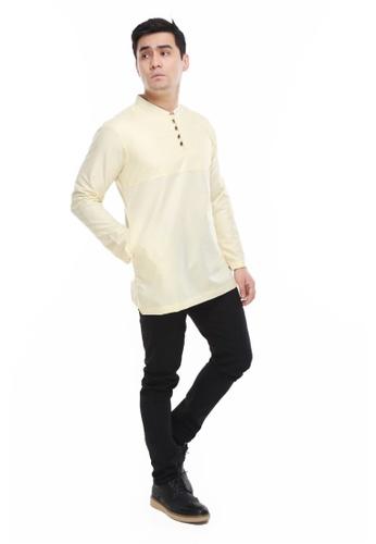 Amar Amran yellow Kurta Rayqal 57240AAE4C6BEFGS_1