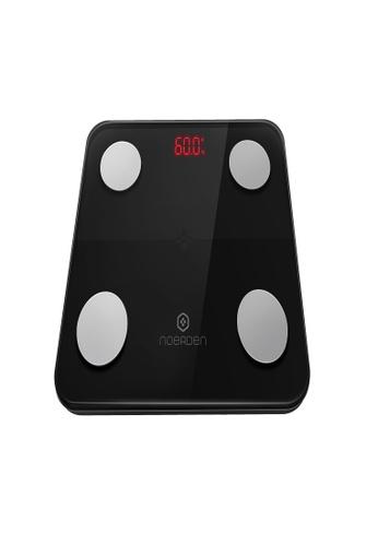 Noerden black Noerden MiniMi Smart Body Scale Black. 29404HLA172BA9GS_1