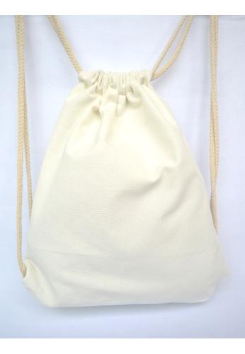 2de709371297 Buy The Twinees White Drawstring Bag Online on ZALORA Singapore