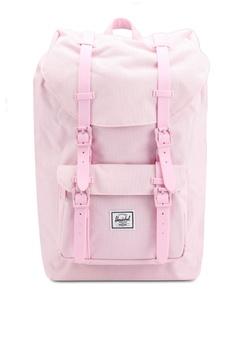 886a8a5bdcf Herschel pink Little America Mid Volume Backpack 521DFAC7D0C66EGS 1