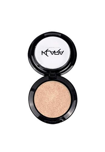 KLARA COSMETICS beige Shimmer Eyeshadow #35 - Sparkling Champagne AE4A7BE4DD9777GS_1