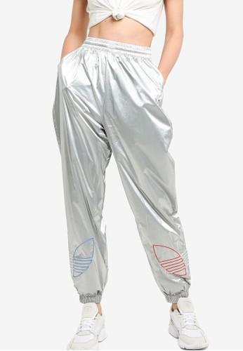 ADIDAS silver adicolor tricolor silver japona track pants 874ABAA17E6B62GS_1