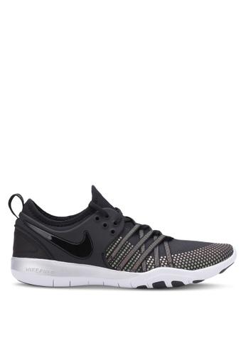Nike black Women's Nike Free TR 7 Metallic Training Shoes NI126SH0S247MY_1
