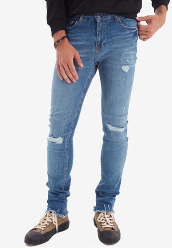 Trendyol blue Indigo Skinny Jeans 30BEBAA0BECD7EGS_1