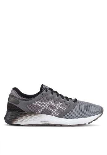 Asics grey Roadhawk FF 2 Shoes 163A2SHA133FE9GS_1