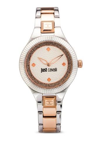R7253215503 Just Indie 閃飾雙色不銹鋼圓錶, esprit 工作錶類, 飾品配件