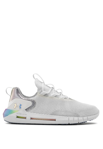 Under Armour 白色 UA HOVR Street Iridescent Sneakers 0043ASH7DCCA18GS_1