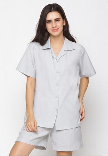 Impression grey Pajamas Set 9105 20DD5AA9283615GS_1