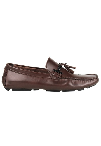 Tomaz brown Tomaz C004A Buckled Tassel Loafers (COFFEE) C7F1CSHD3690BFGS_1