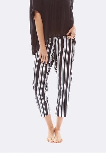 Deshabille black Milliner Crop Pants DE081US0HC74SG_1