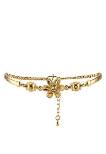 Megane gold Zaitun Gold Plated Bracelet 9AE57AC843AE5AGS_1