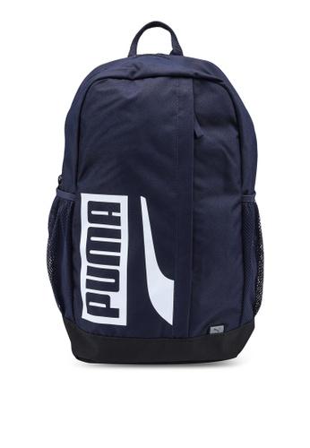 PUMA navy Plus II Backpack FEBB6AC436920EGS_1