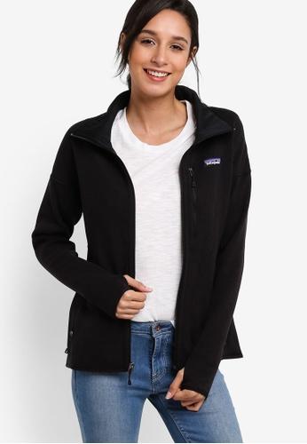 Patagonia black Performance Better Sweater Jacket PA549AA33WZAMY_1