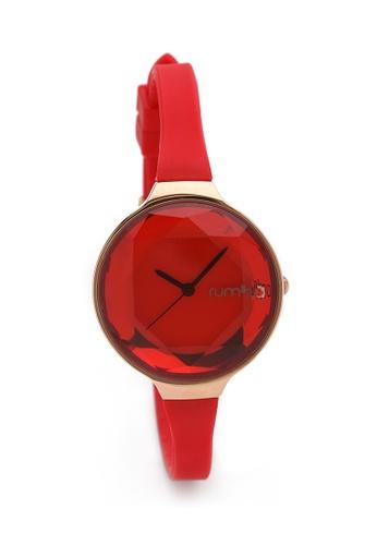 RumbaTime red and gold Rumbatime Orchard Gem Mini Watch Ruby RU023AC14MURHK_1