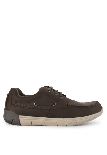 Hush Puppies brown Francis Lace Up 02AA0SHA5EE340GS_1