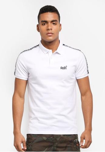 Superdry white Sports Retro Polo Shirt 1529AAAB99EF54GS_1